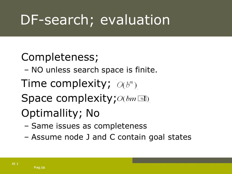 DF-search; evaluation