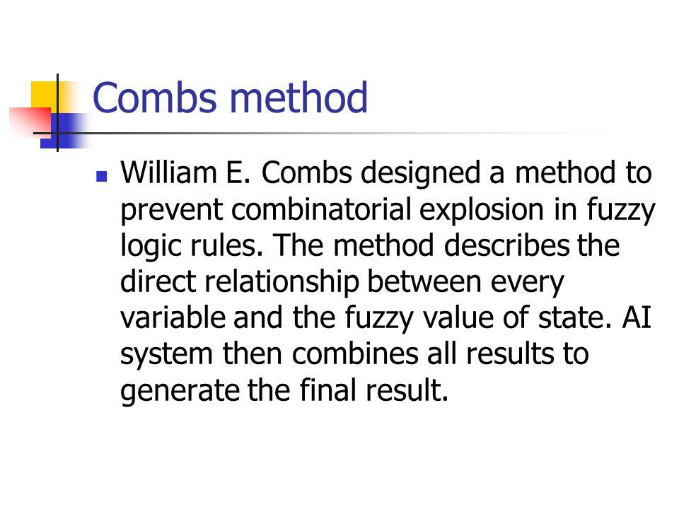 Combs method