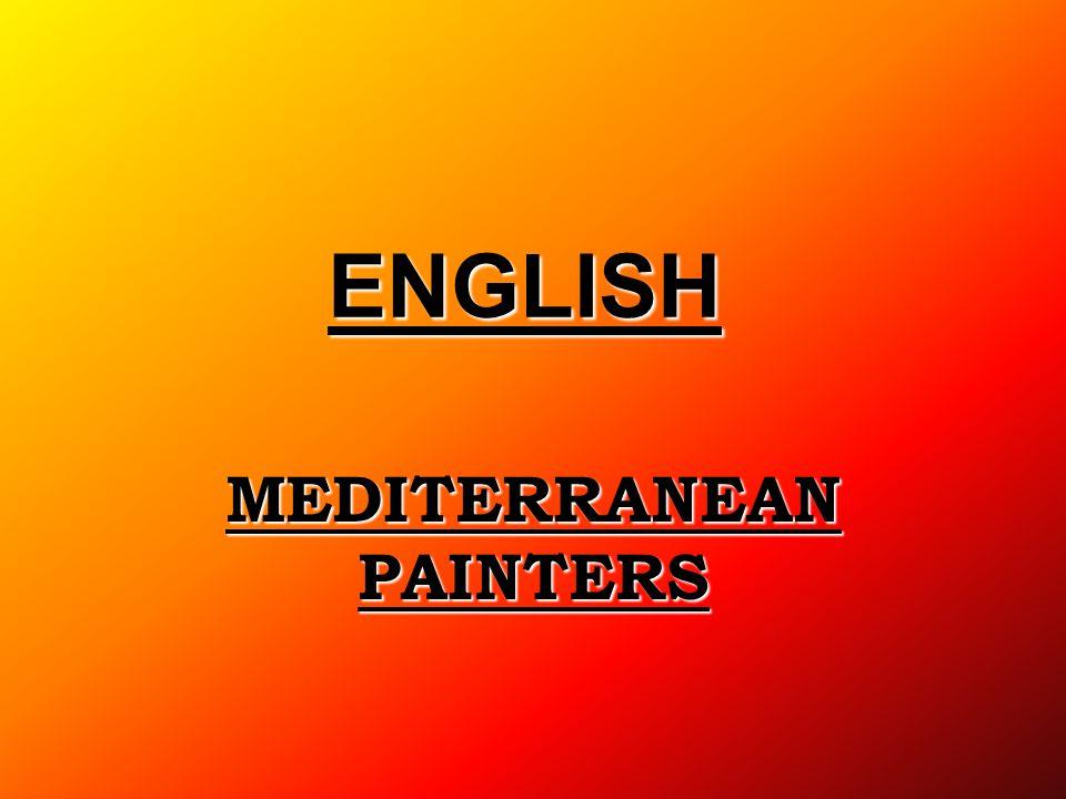 MEDITERRANEAN PAINTERS