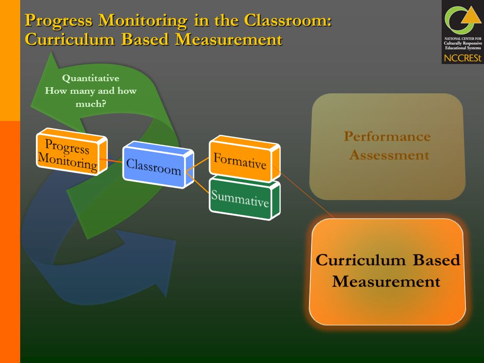 Progress Monitoring in the Classroom: Curriculum Based Measurement