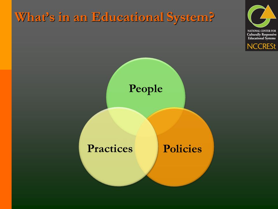 What's in an Educational System