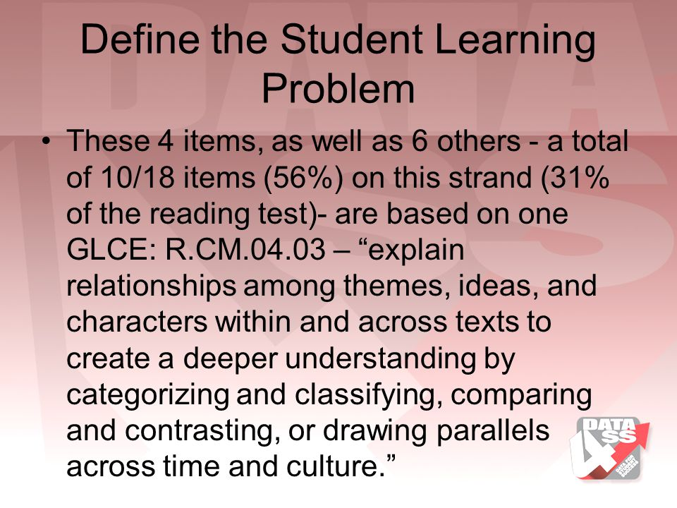 Define the Student Learning Problem
