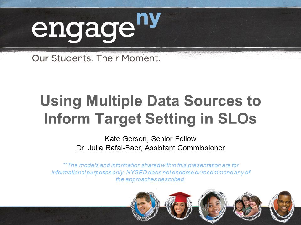 Using Multiple Data Sources to Inform Target Setting in SLOs
