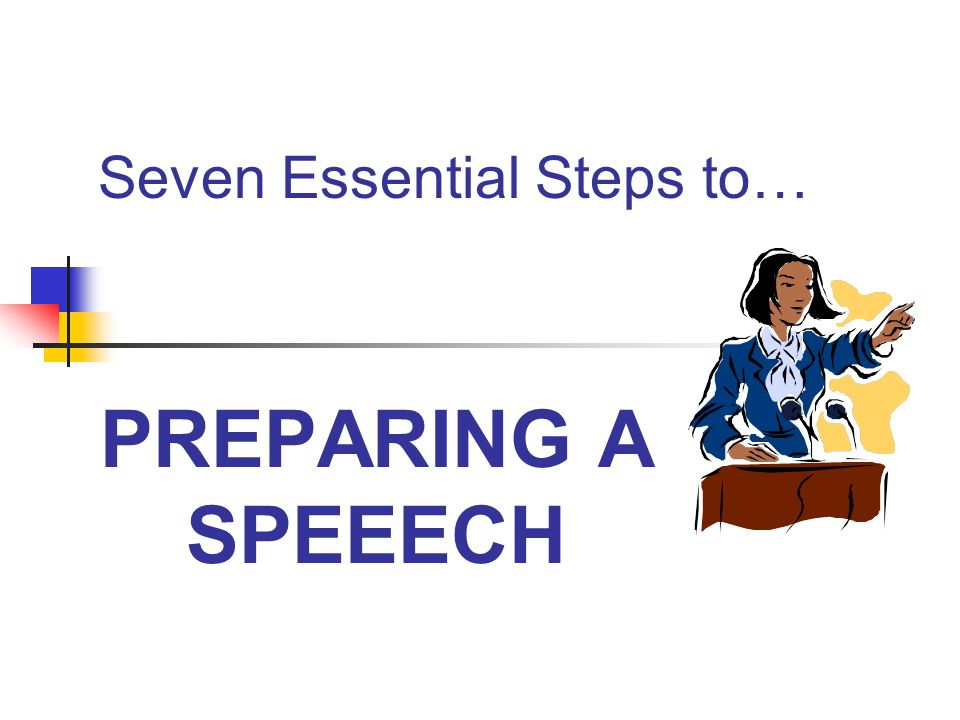 Seven Essential Steps to…