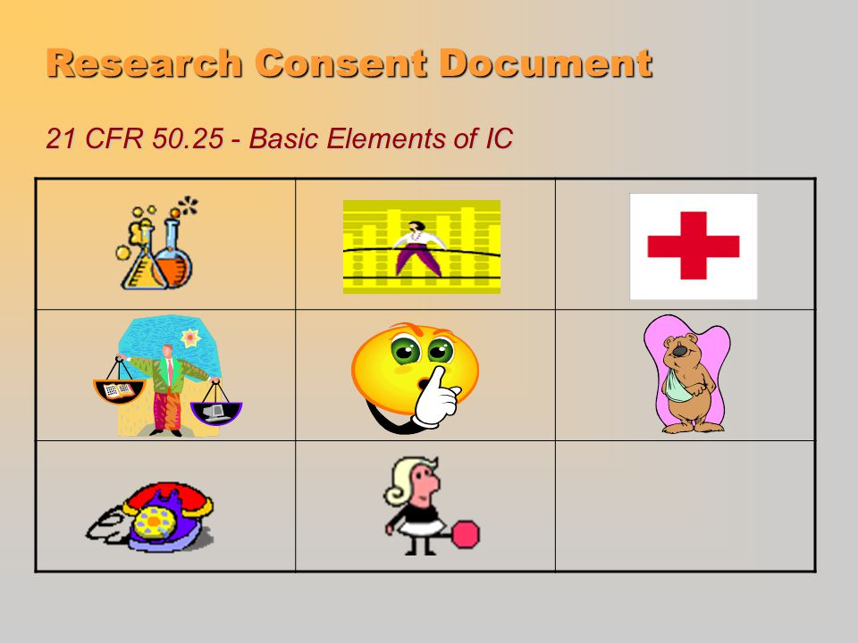 Research Consent Document