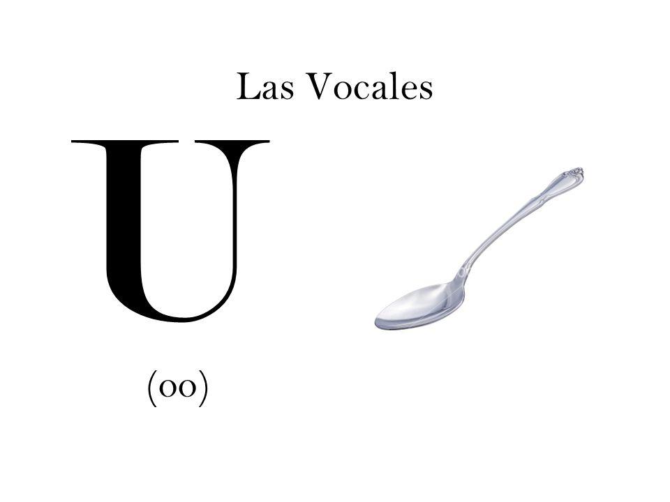 Las Vocales U (oo)