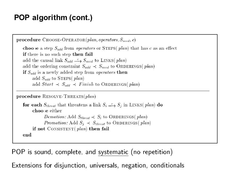 POP algorithm (cont.)