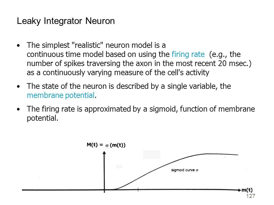 Leaky Integrator Neuron
