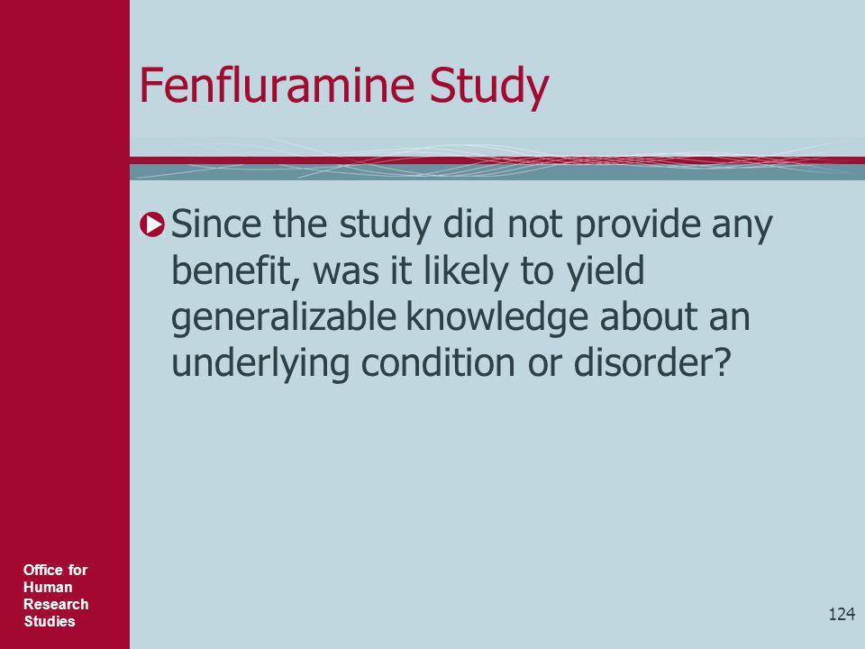 Fenfluramine Study
