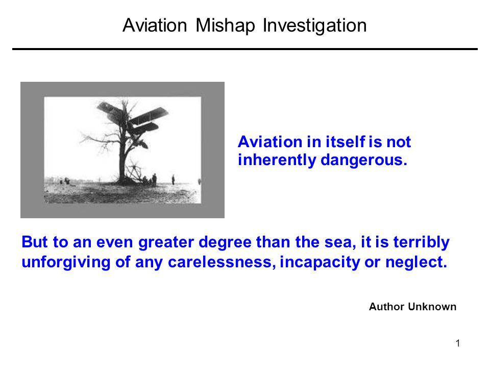 Aviation Mishap Investigation