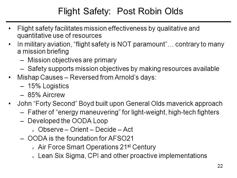 Flight Safety: Post Robin Olds