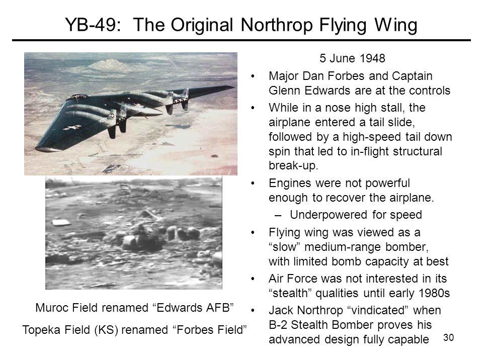 YB-49: The Original Northrop Flying Wing