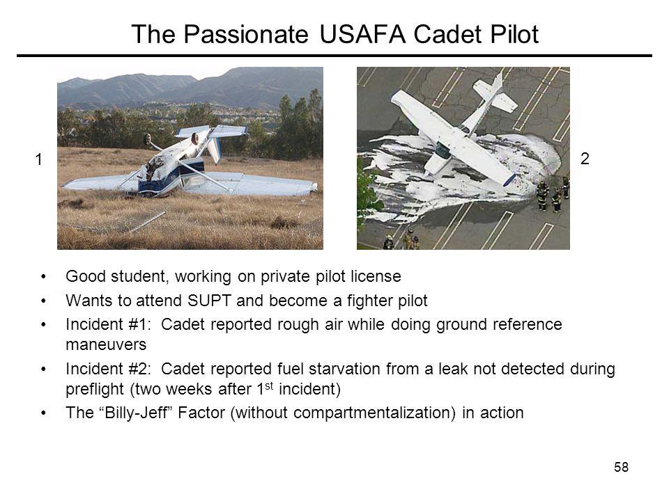 The Passionate USAFA Cadet Pilot