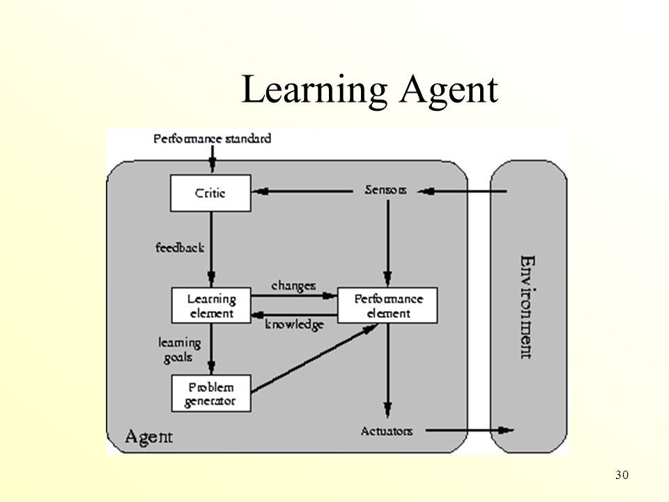 Learning Agent