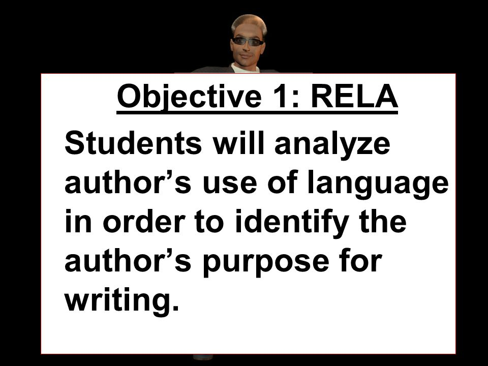 OBJECTIVE Objective 1: RELA