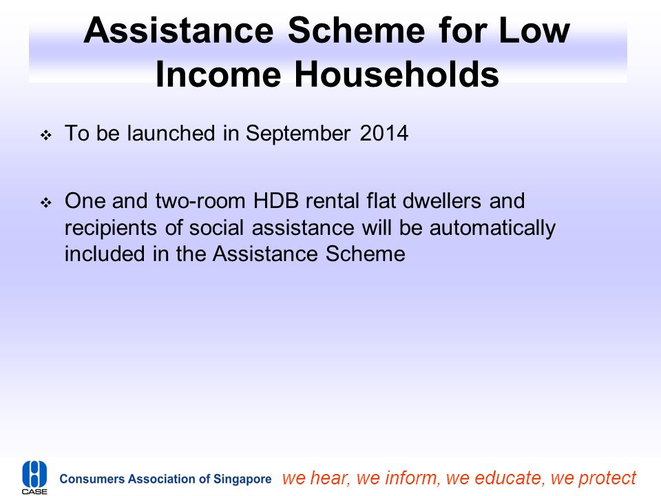 Assistance Scheme for Low Income Households