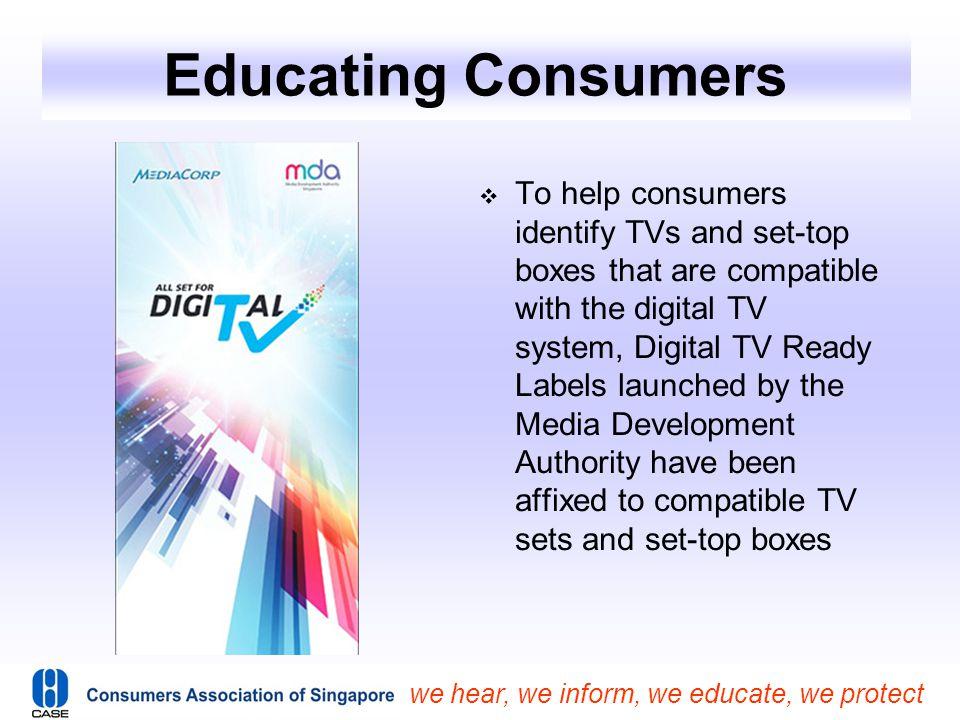 Educating Consumers