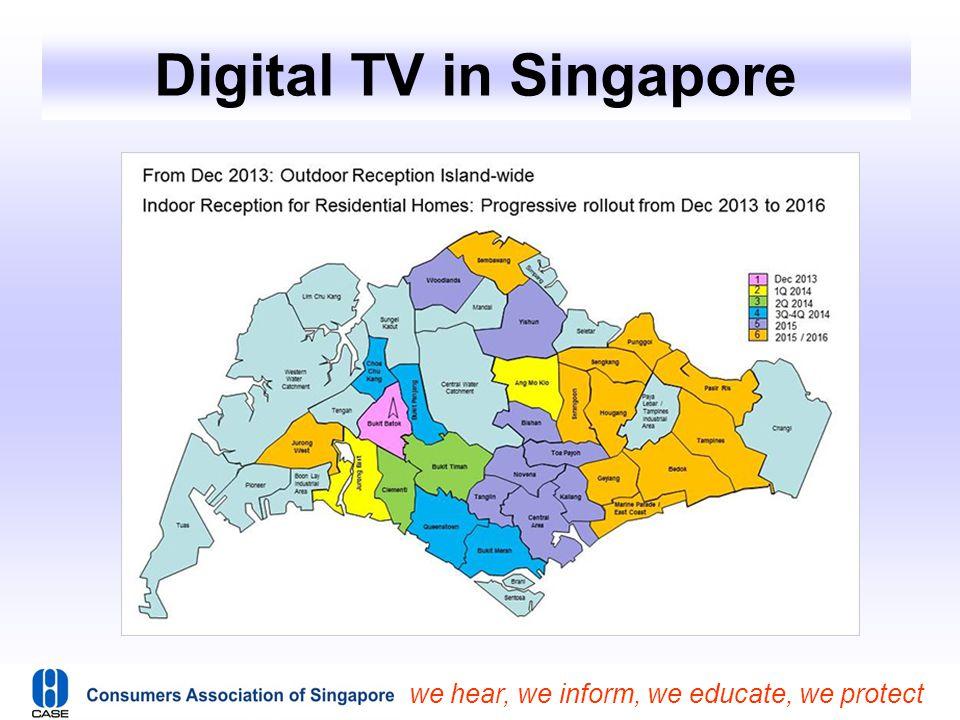 Digital TV in Singapore