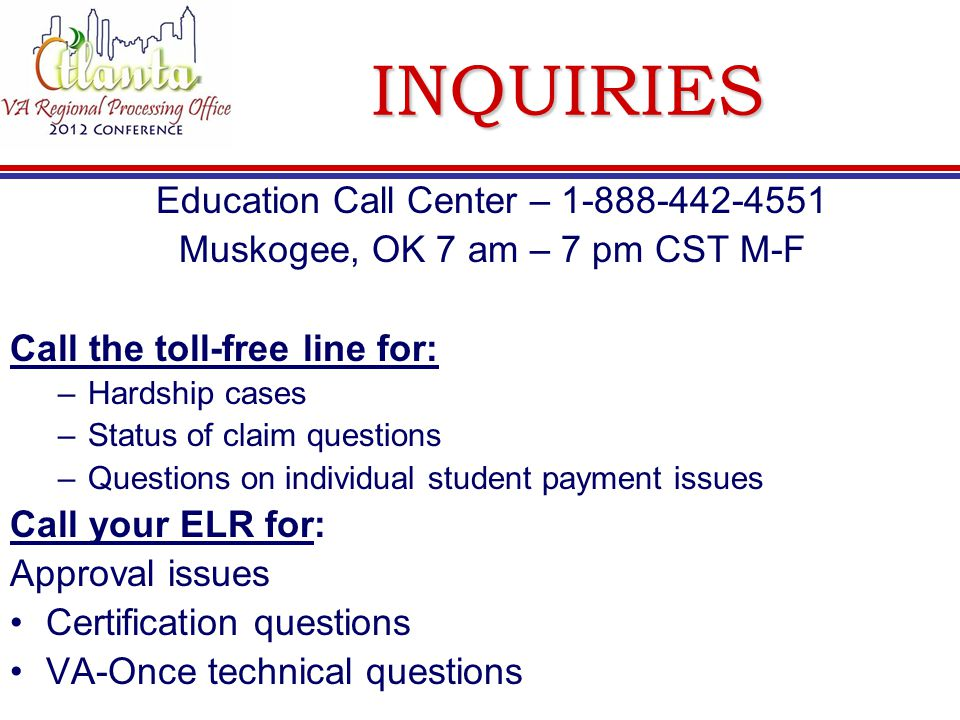 inquiries education call center 1 888 442 4551 - Call Center Duties