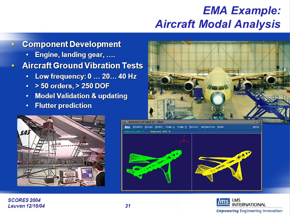 EMA Example: Aircraft Modal Analysis