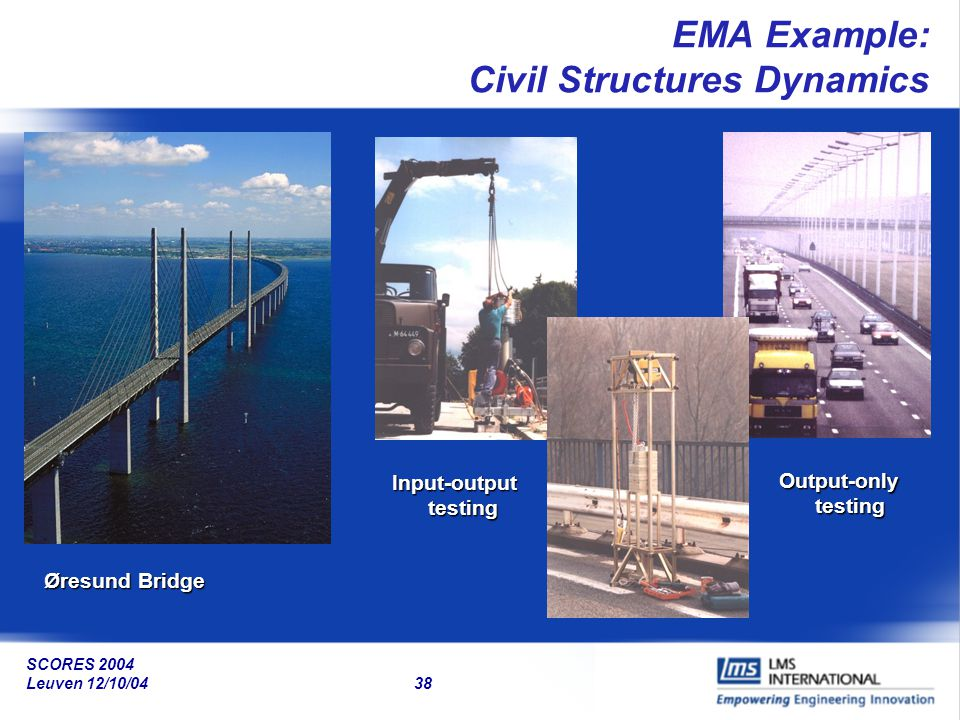 EMA Example: Civil Structures Dynamics