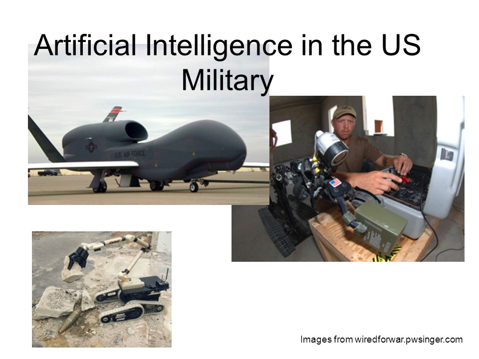 Artificial Intelligence in the US Military