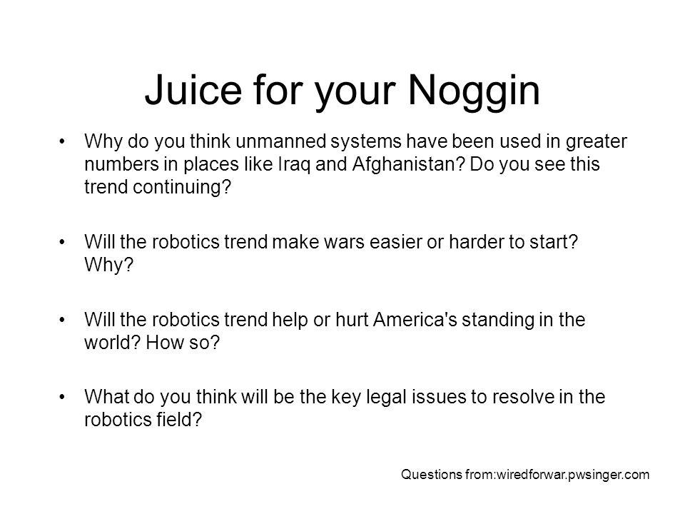 Juice for your Noggin