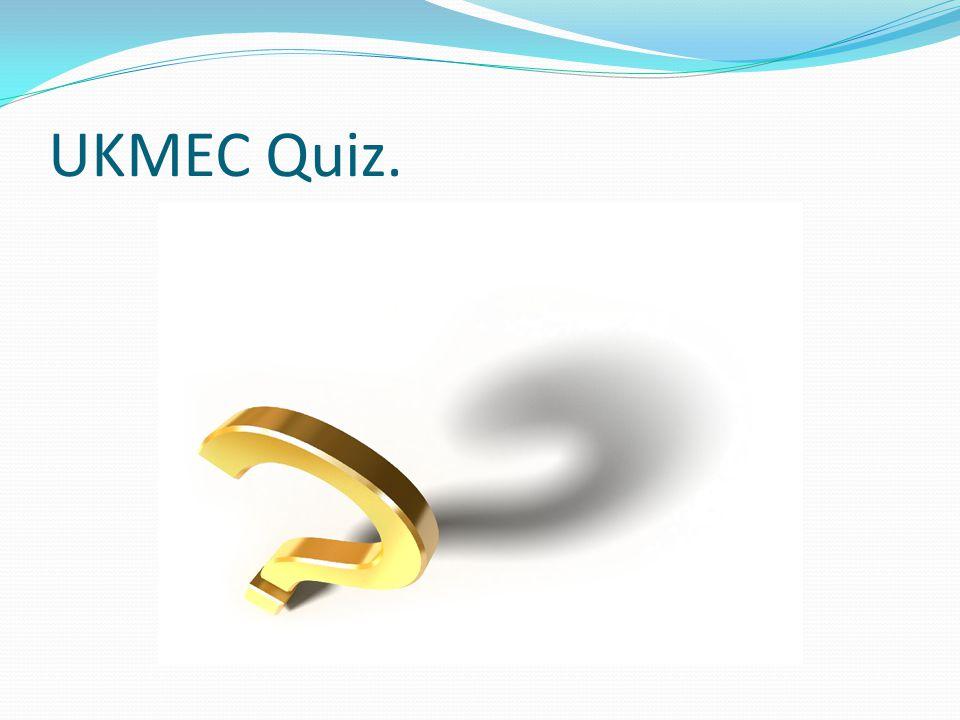 UKMEC Quiz.