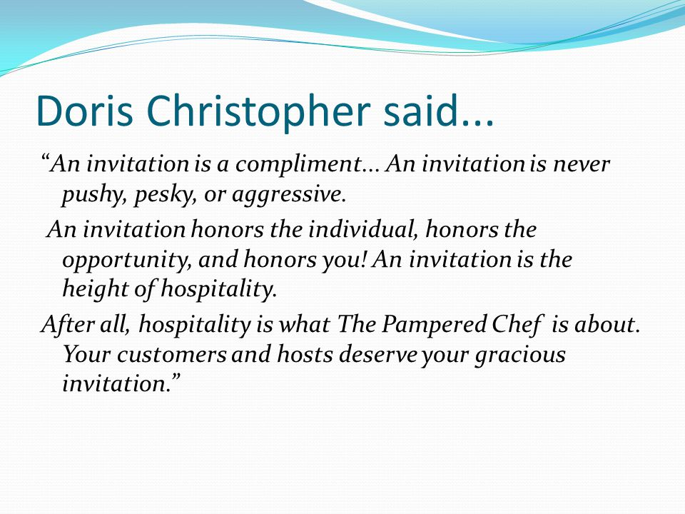 Doris Christopher said...