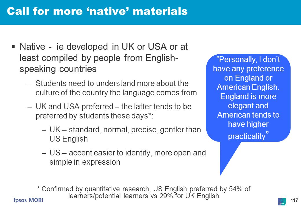 Call for more 'native' materials