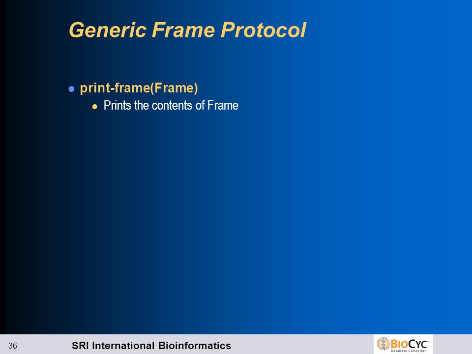 Generic Frame Protocol