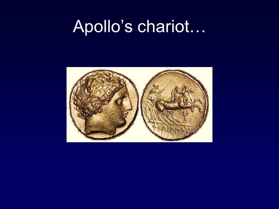 Apollo's chariot…