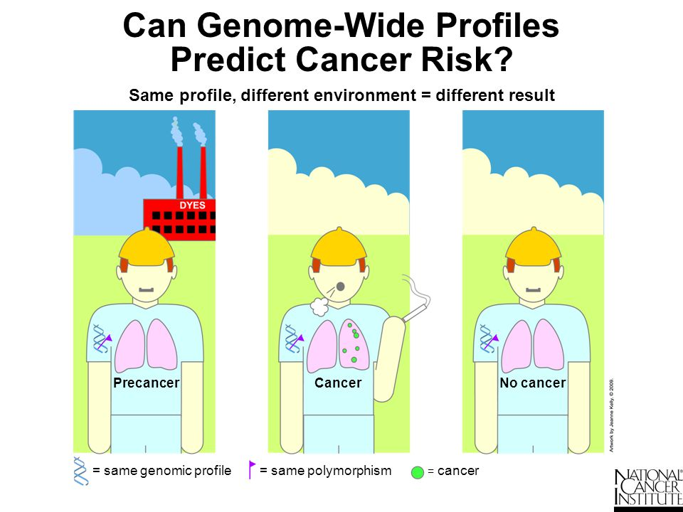 Can Genome-Wide Profiles Predict Cancer Risk