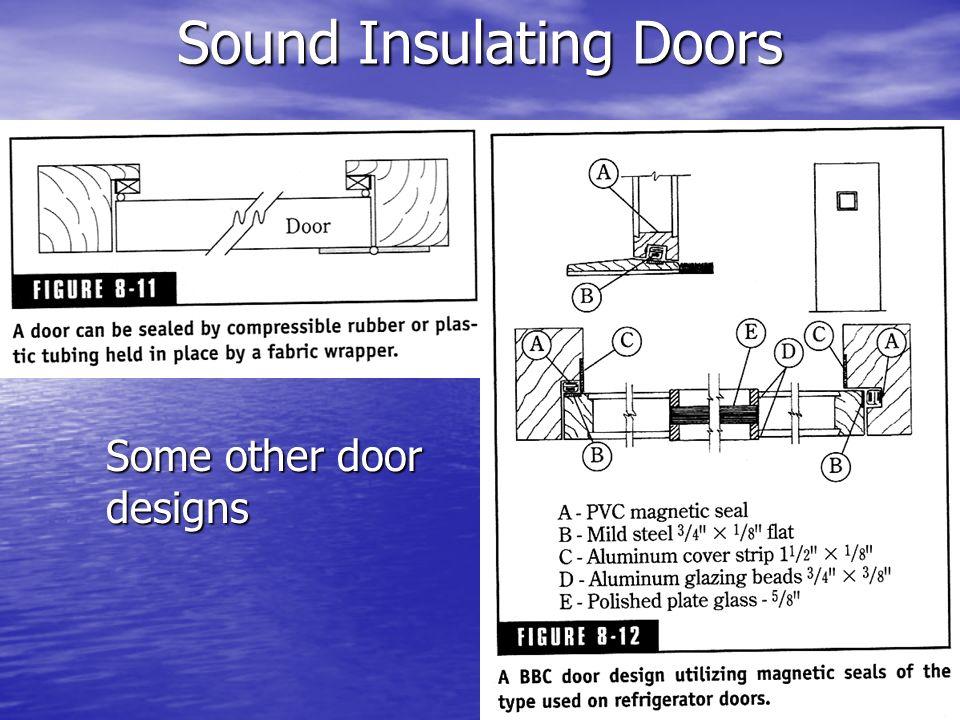 Sound Insulating Doors