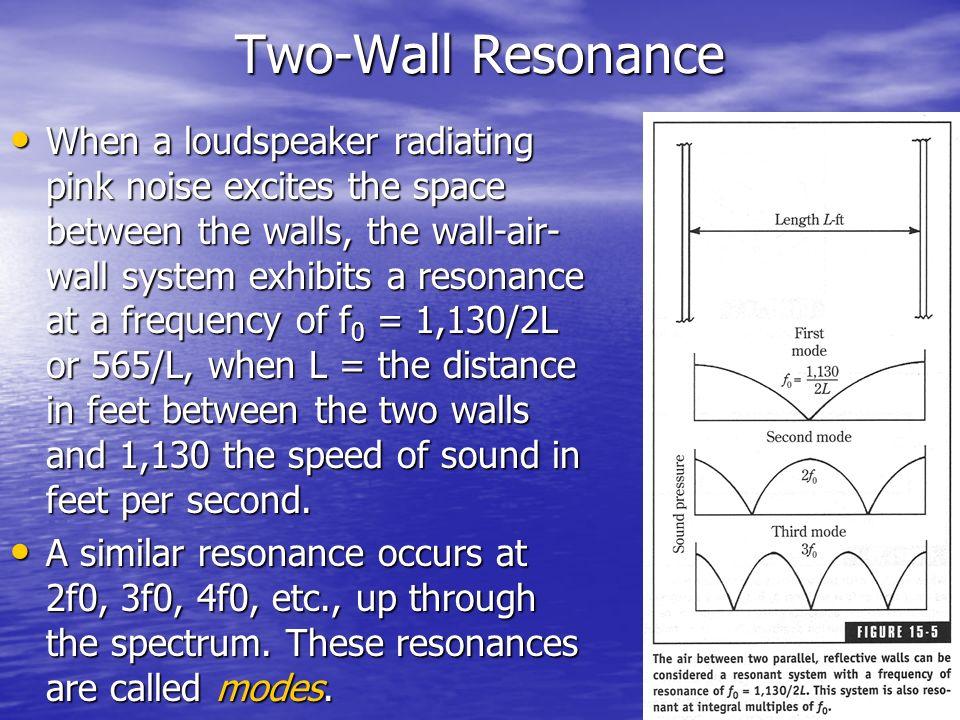 Two-Wall Resonance