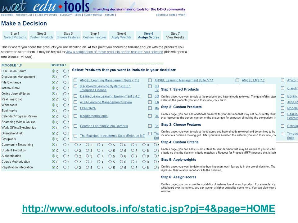 http://www.edutools.info/static.jsp pj=4&page=HOME