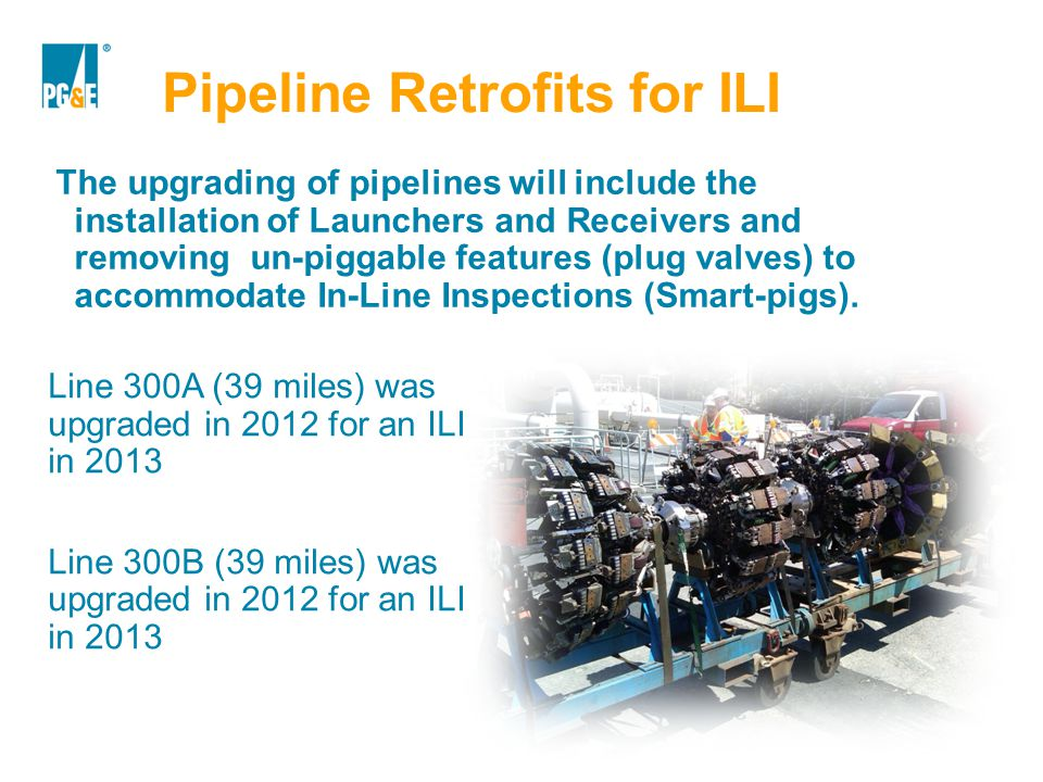 Pipeline Retrofits for ILI