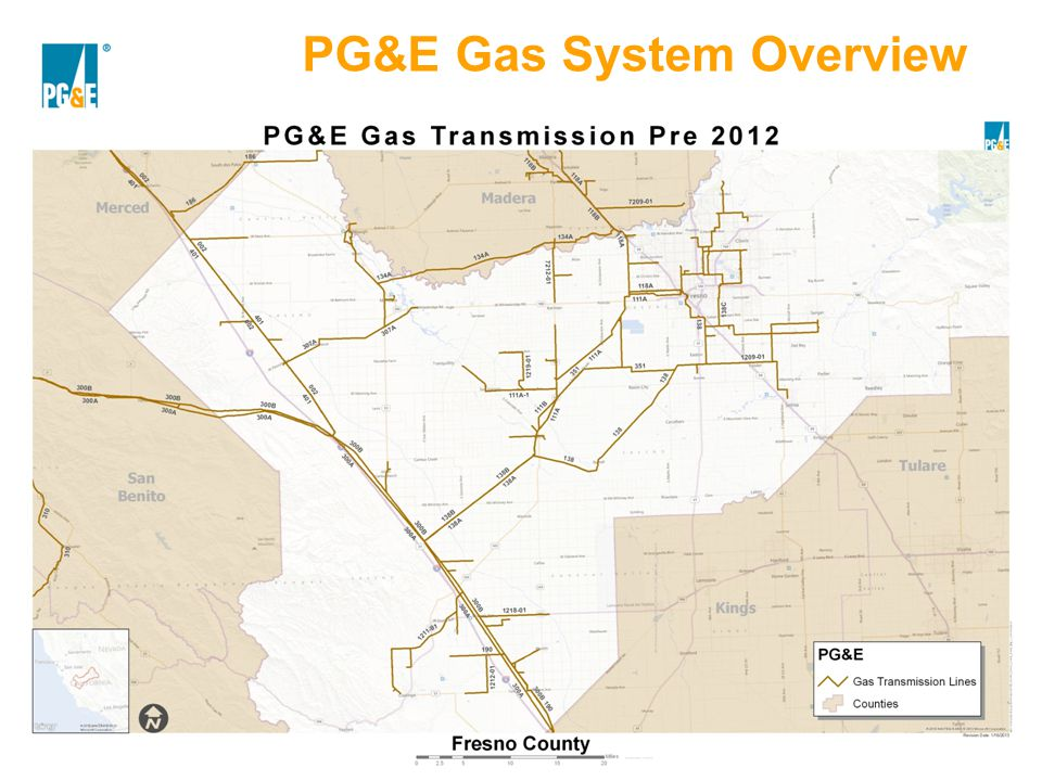PG&E Gas System Overview