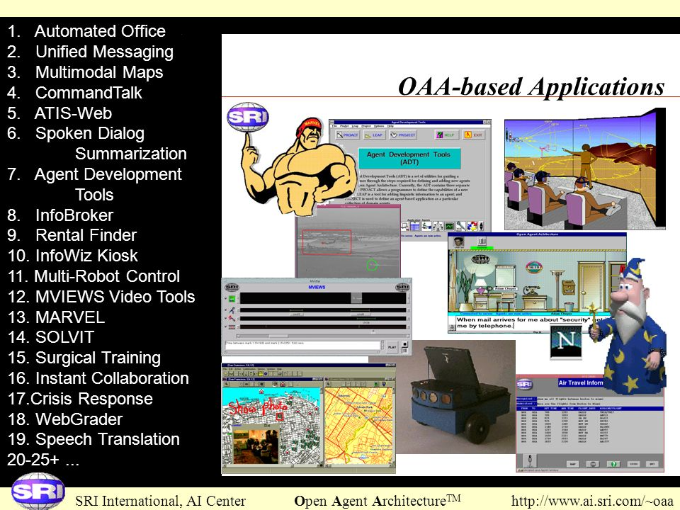 OAA-based Applications