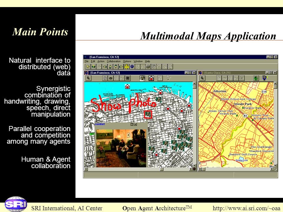 Multimodal Maps Application