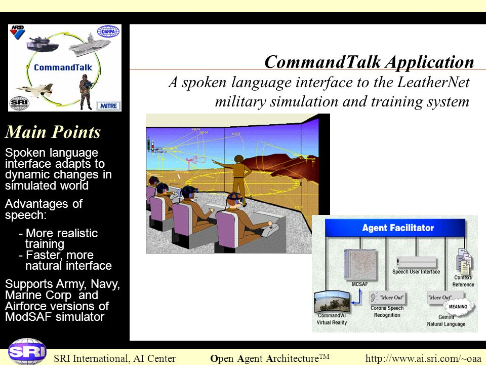 CommandTalk Application