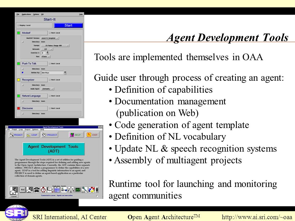 Agent Development Tools