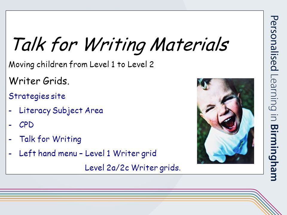 Talk for Writing Materials