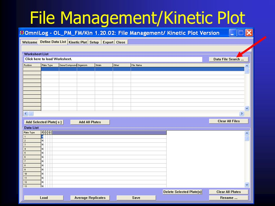 File Management/Kinetic Plot