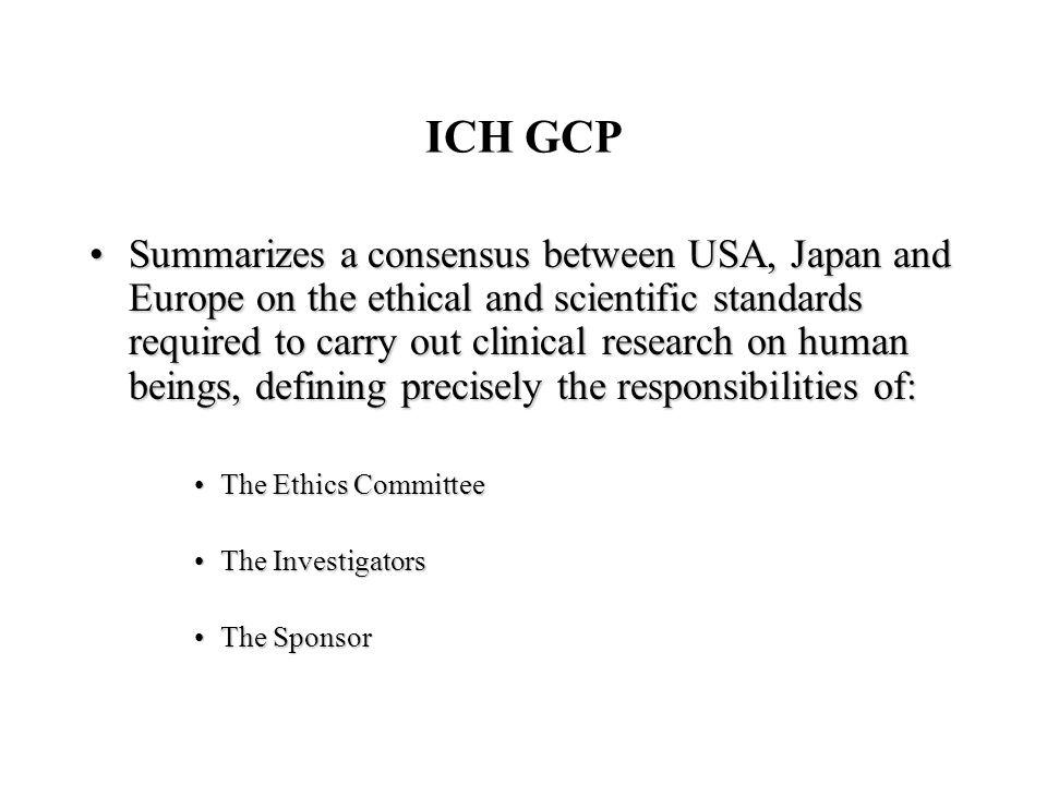 ICH GCP