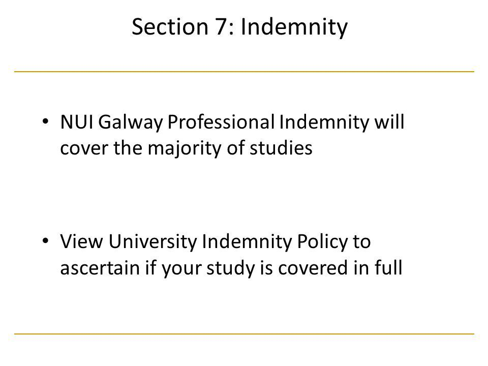 NUI, Galway, Research Ethics Committee, Training Day Oct 2005