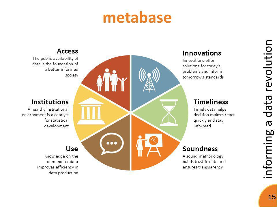 metabase Access Innovations Institutions Timeliness Use Soundness
