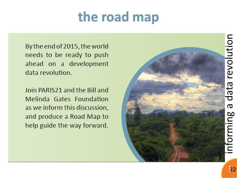 the road map Important to make the most of existing efforts instead of reinventing the wheel.