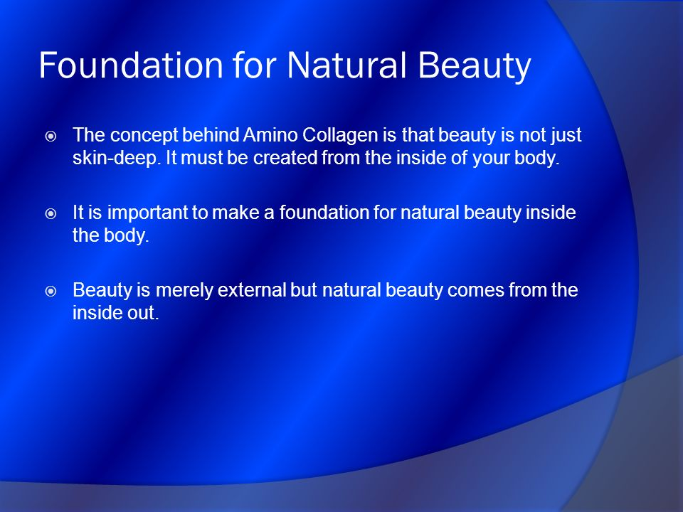 Foundation for Natural Beauty