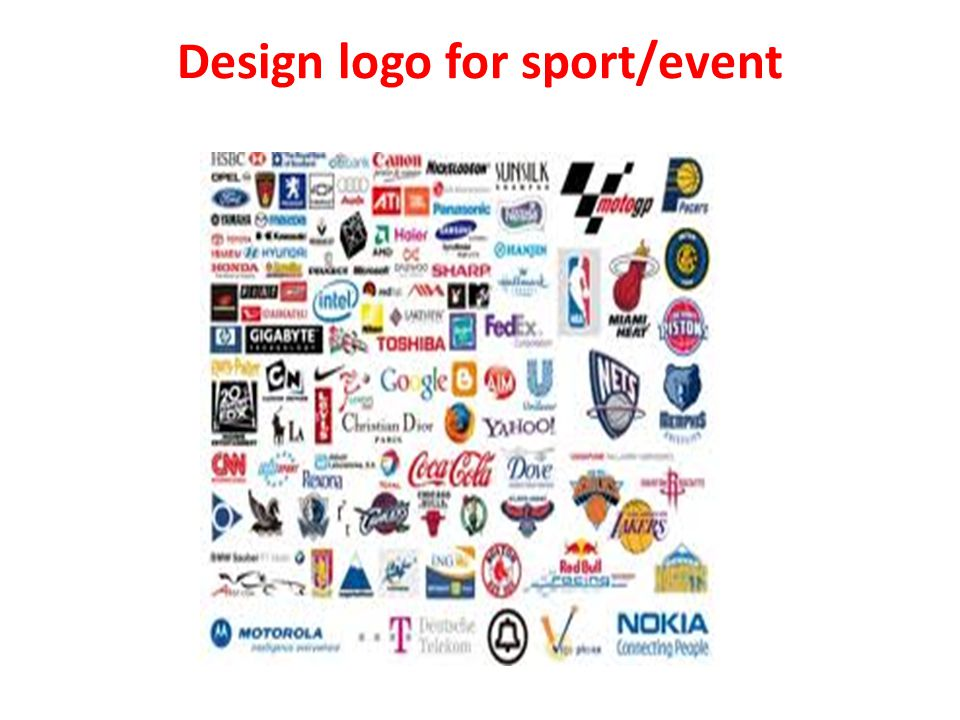 Design logo for sport/event